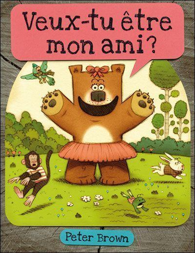 Les livres des petits for Le jardin voyageur peter brown